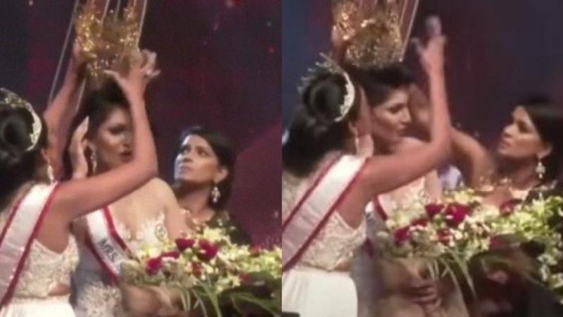 VIDEO: La humillan por una corona; ganadora de certamen de belleza denunció a su agresora