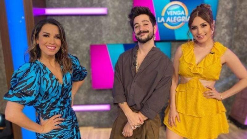 ¡Cuidado! Camilo vive trágico momento en 'VLA' y tunden de críticas su visita a TV Azteca