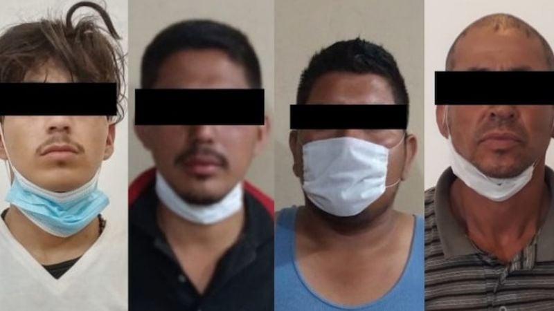 Golpe al crimen organizado: Caen cuatro presuntos narcomenudistas en Ciudad Obregón