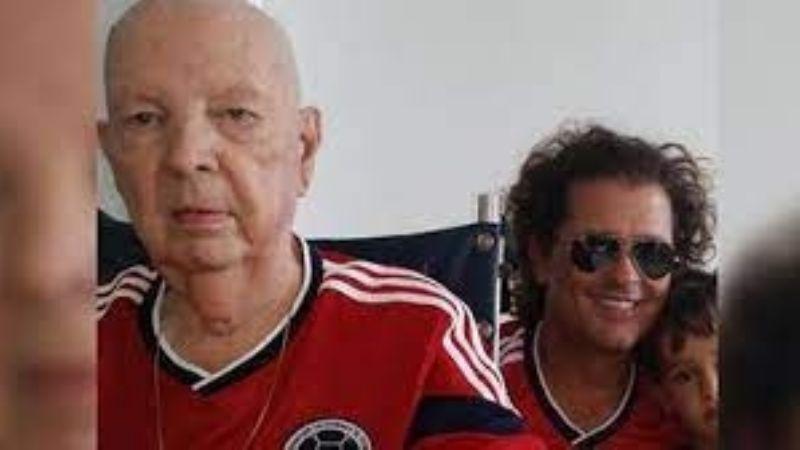 Famoso cantante se encuentra de luto: La emotiva despedida al padre de Carlos Vives