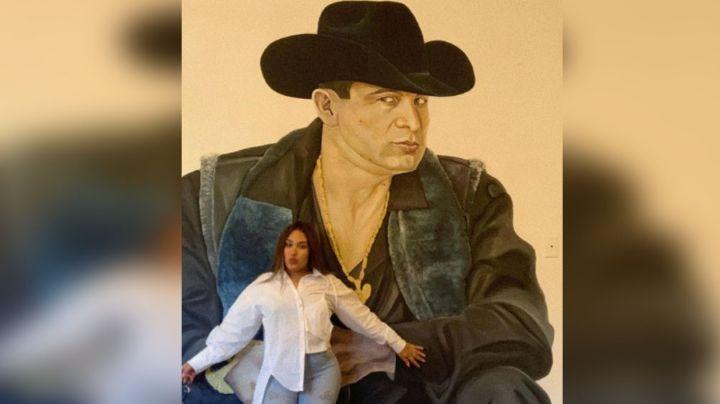 Valentina Elizalde, hija del 'Gallo de Oro,' a punto de sufrir fatal accidente en moto