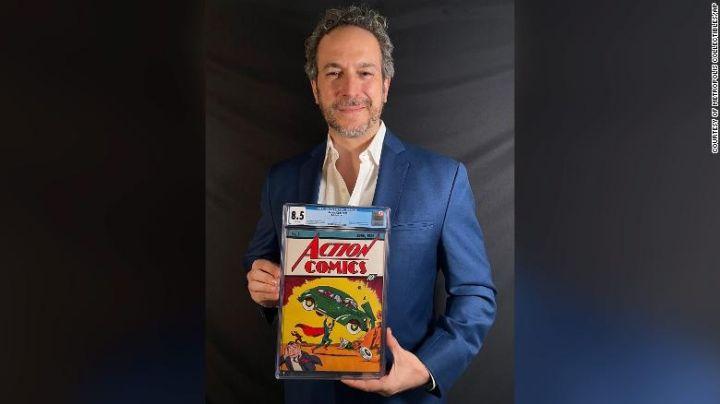 ¡Récord! Venden cómic con la primera aparición de 'Superman' en 3.2 millones de dólares