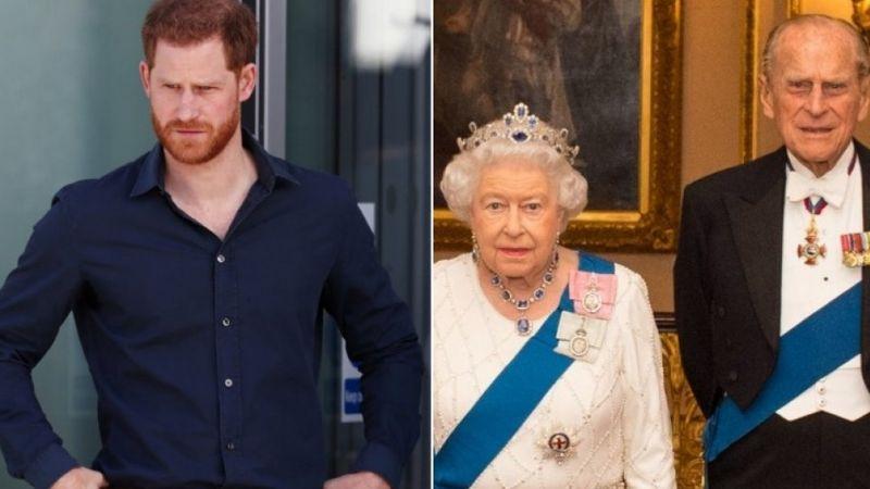 ¿Se despedirá del Príncipe Felipe? Harry podría no estar al lado de la Reina Isabel II