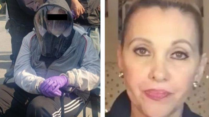 """""""Estoy apenada"""": Actriz de Televisa reacciona a arresto de su hijo por disfrazarse para vacunarse"""