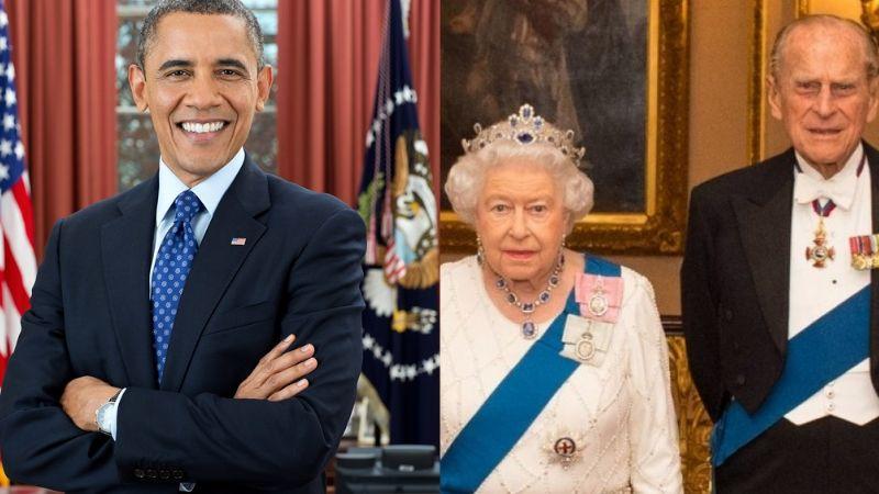 No solo Boris Johnson, Barack Obama rinde homenaje al Príncipe Felipe, esposo de la Reina Isabel II