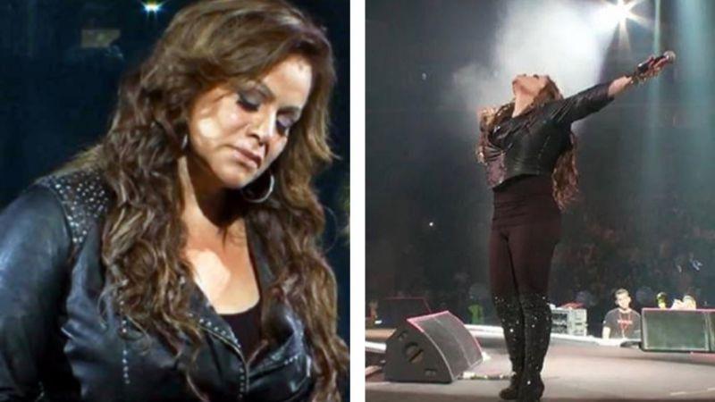 """""""Hoy la matan"""": El escalofriante grito a Jenni Rivera en su último concierto"""