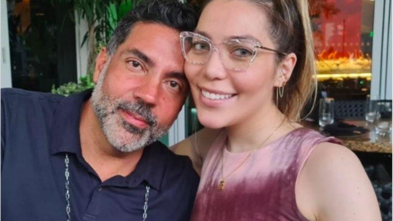 """Frida Sofía celebra el Día del Padre junto a Pablo Moctezuma: """"Gracias por aceptarme como soy"""""""