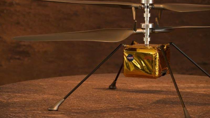 Ingenuity: El pequeño helicóptero con el que la NASA pretende sobrevolar y explorar Marte