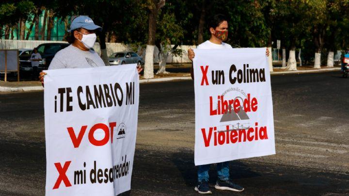 """""""Mi voto por un desaparecido"""": Habitantes de Colima lanzan reto a candidatos"""