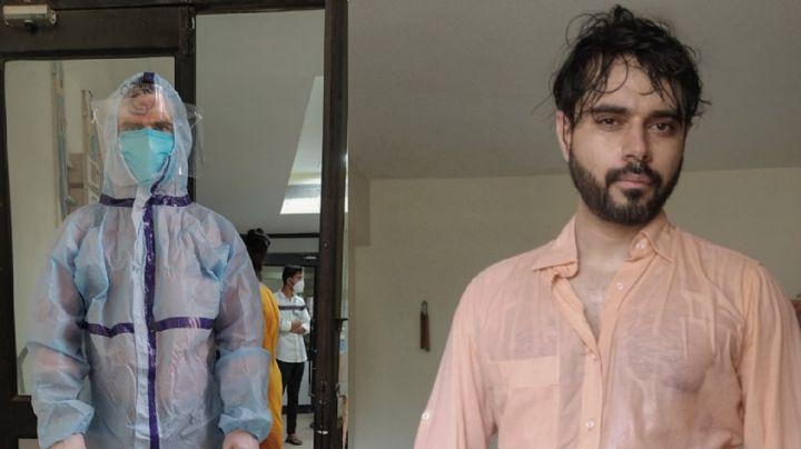 Exhausto: Doctor de la India se vuelve viral al enviar un conmovedor mensaje al mundo