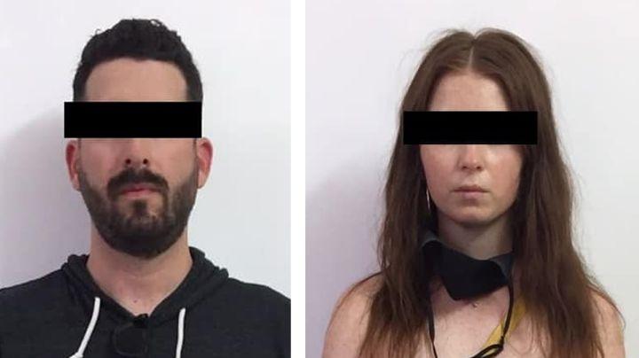 Capturan a pareja armada en frontera de Sonora; intentaron cruzar de Estados Unidos a México