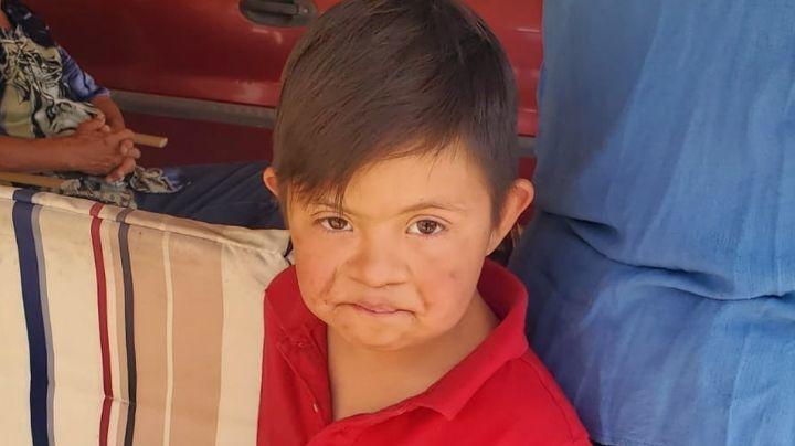 Pequeño desaparecido en Sonora se reencuentra con su familia; vagaba solo por las calles
