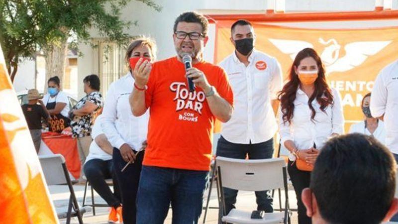 Sonora: Ricardo Bours promete seguridad y un relleno sanitario para Puerto Peñasco