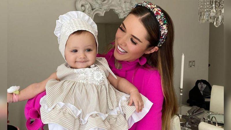 FOTOS: Marlene Favela presume a Bella, su hija con George Seely de peculiar forma