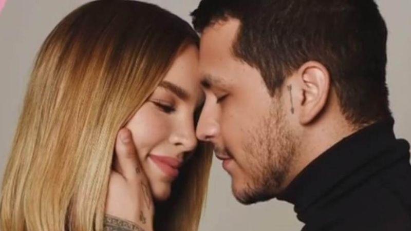"""¿Amor tóxico? Christian Nodal hace esto con Belinda y revela que """"la tiene en todas partes"""""""