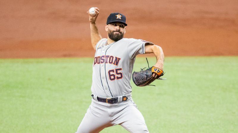 José Urquidy consigue segunda victoria este año en MLB con soberbia actuación