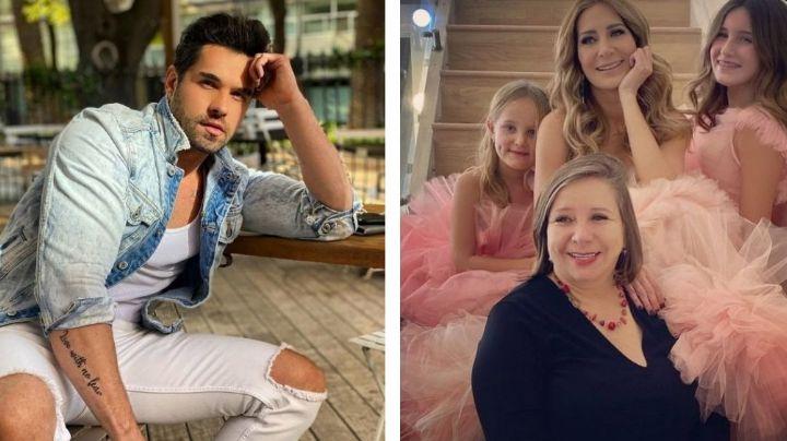 ¡Lo quiere de regreso en Televisa! Mamá de Geraldine Bazán defiende a Eleazar Gómez de críticas