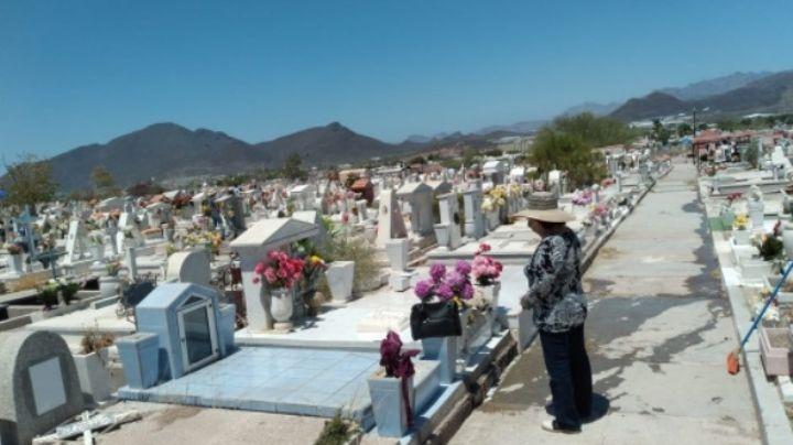 Panteón 'Héroes Civiles' de Guaymas, con poca concurrencia en el Día de las Madres