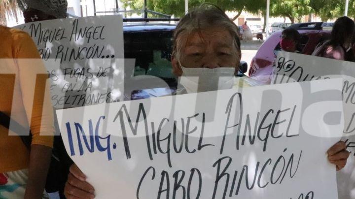 """""""Las puertas están abiertas"""": Director de Oomapas responde a vecinos de la Beltrones en Cajeme"""