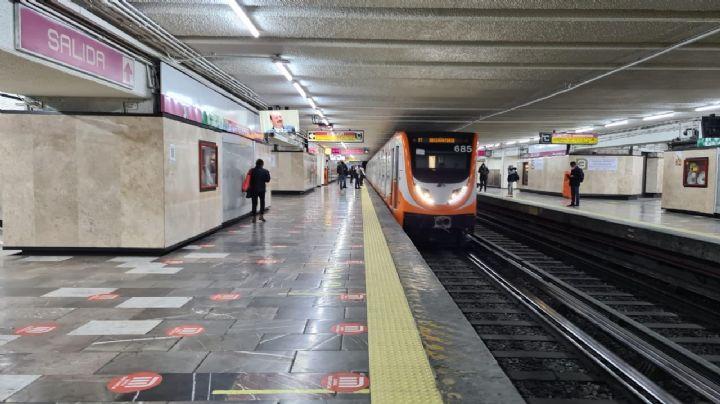 VIDEO: ¡A oscuras! Denuncia conductor del Metro de la CDMX falta de luz en las vías