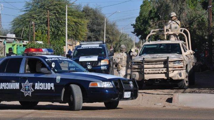 Lluvia de balas en San Luis Río Colorado; asesinan a tres personas y hieren de bala a otra