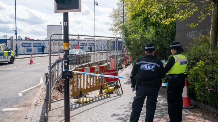 Macabro hallazgo: Encuentran restos humanos debajo del concreto en la ciudad de Birmingham