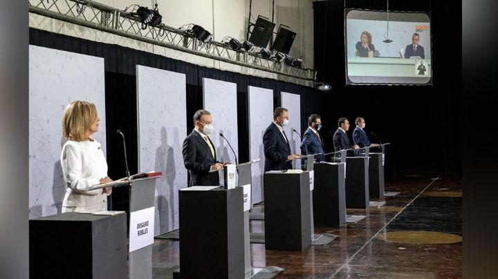 Semana llena de debates: Candidatos a la gubernatura de Sonora se verán las caras dos veces
