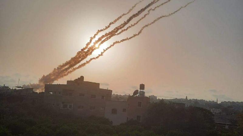 (VIDEO) Arde Israel: Brutal enfrentamiento entre palestinos y Policía deja más de 300 heridos