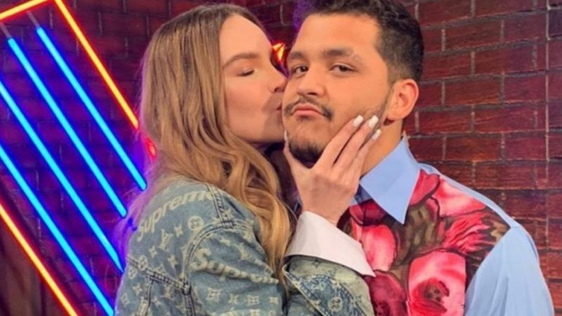 """¿'Amor tóxico'? Tunden a Belinda por """"bloquear a fans"""" en redes de Christian Nodal"""
