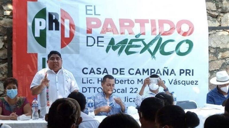 Candidato del PRI a presidencia municipal de Oaxaca se registra como mujer