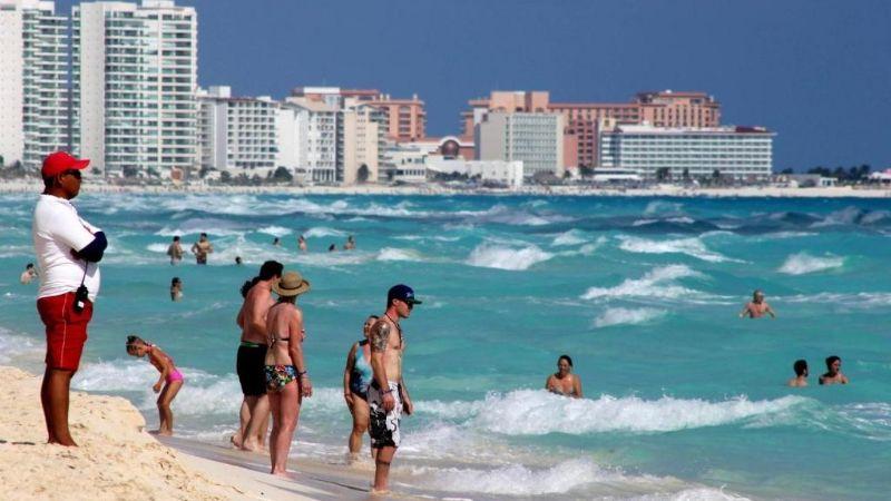 Cae un 17.4% el turismo internacional en México, a pesar de la reducción de casos por Covid-19