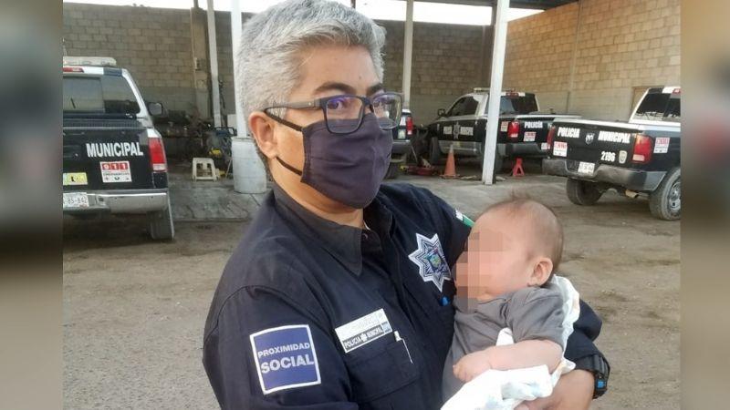 Encuentran a bebé abandonado en parcela de Sonora; sufrió quemadura por el sol y deshidratación
