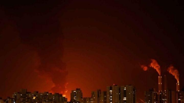 VIDEO: Hamás responde a ataque y lanza más de 130 cohetes a Tel Aviv