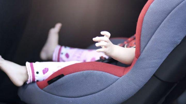 Muere niña de 2 años tras ser olvidada por su madre dentro de un auto por más de 7 horas