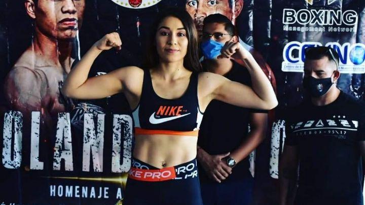 Yolanda 'Pitayita' Vega; pugilista que se encuentra en camino de un campeonato mundial