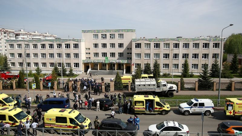Conmoción en Rusia por tiroteo escolar: 7 niños fueron víctimas fatales de un joven