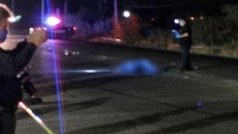 Jornalero muere atropellado por auto' fantasma; su cuerpo quedó tendido en la carretera