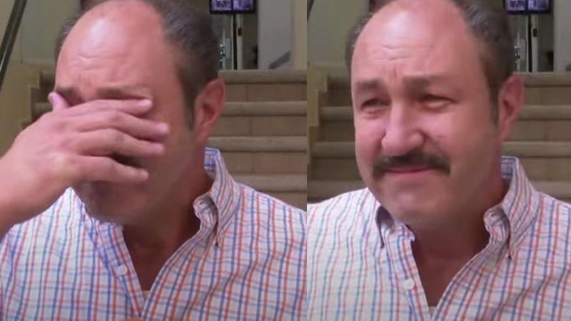 Devastado, Rodrigo Murray rompe en llanto en 'Hoy' al hablar de la muerte de Guillermo Murray