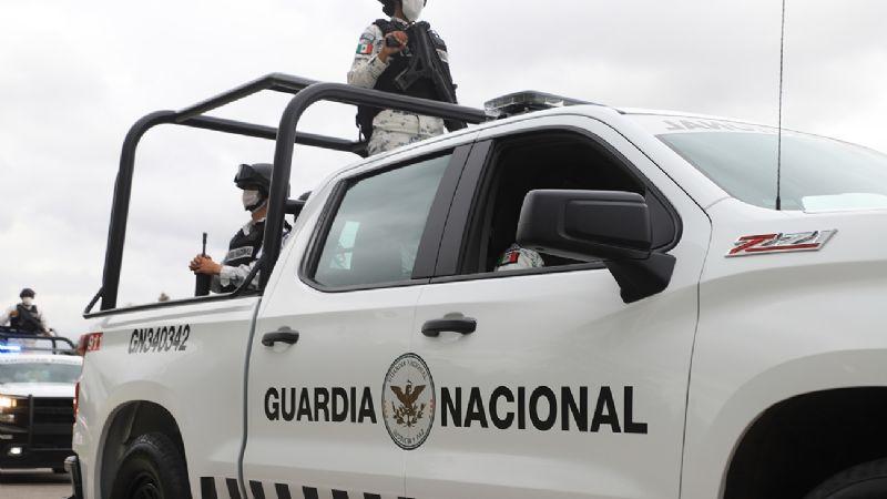 VIDEO: Mujer es acosada por elementos de la Guardia Nacional en Cajeme