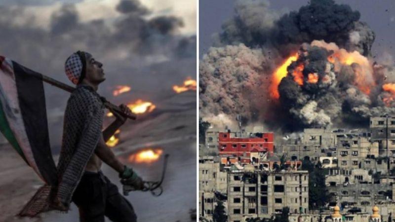 VIDEO: Este es el momento en el que colapsa un edificio de 12 pisos bombardeado por Israel