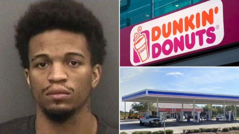Empleado de Dunkin Donuts causa la muerte de un cliente de 77 años que lo atacó racialmente