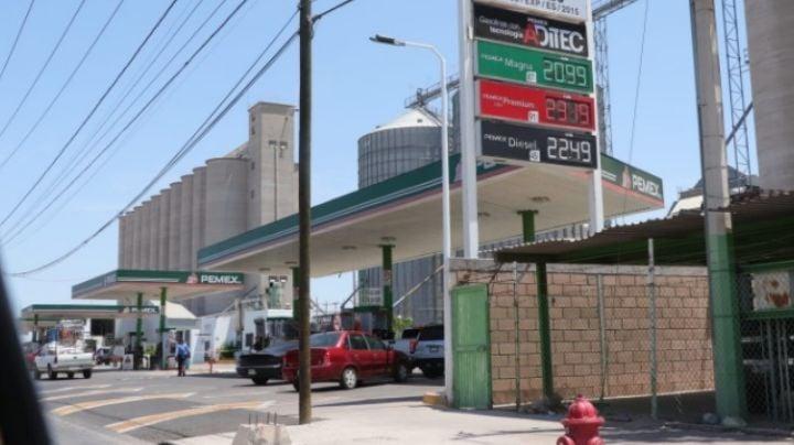 Obregón: Preocupa a taxistas y ciudadanos incremento en precio del combustible