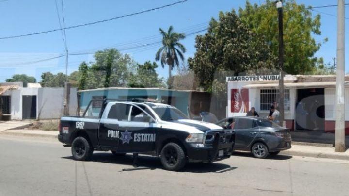 Terror en Obregón: Intensa movilización policial tras reporte de vehículo baleado
