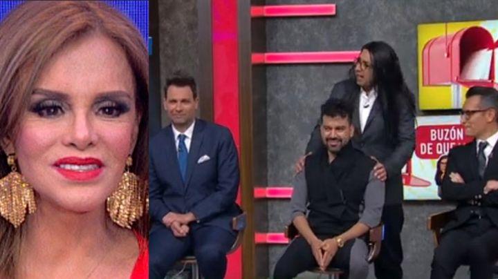 Además de Laura G, Lucía Méndez humilló a otro integrante de 'VLA' y lo confundió con 'el del agua'