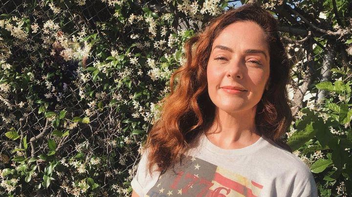 Andrea García reaparece en Instagram como nunca; comparte fotografía inédita