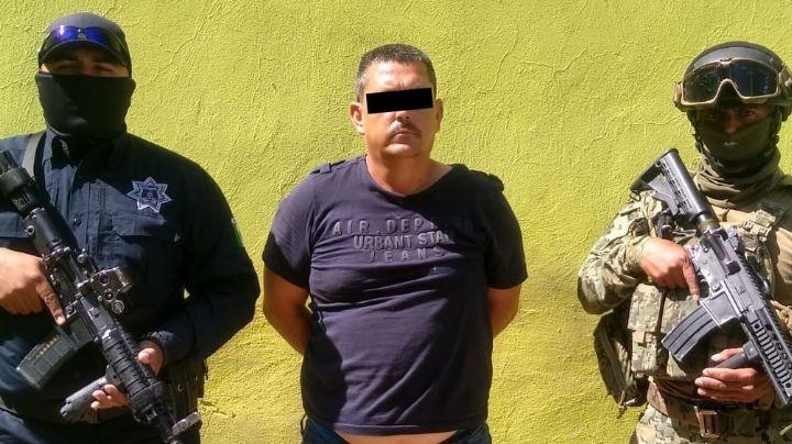 Capturan a pirómano al sur de Ciudad Obregón; incendió llantera y vehículo el mes pasado