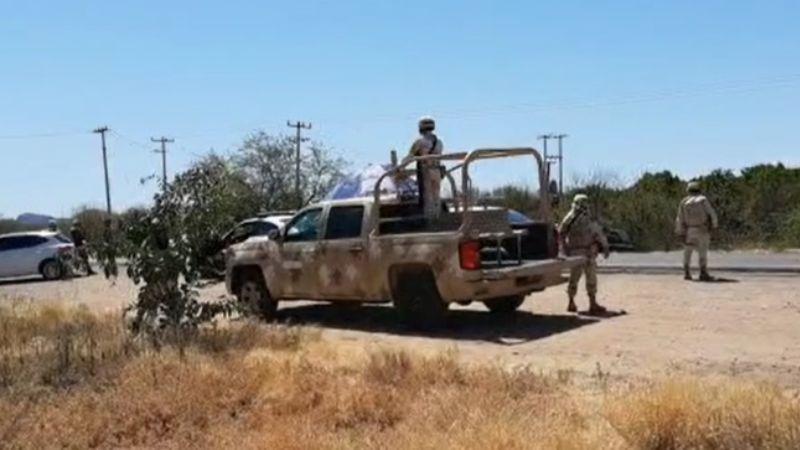 Trágico choque entre unidad de Sedena y camioneta deja saldo de un fallecido