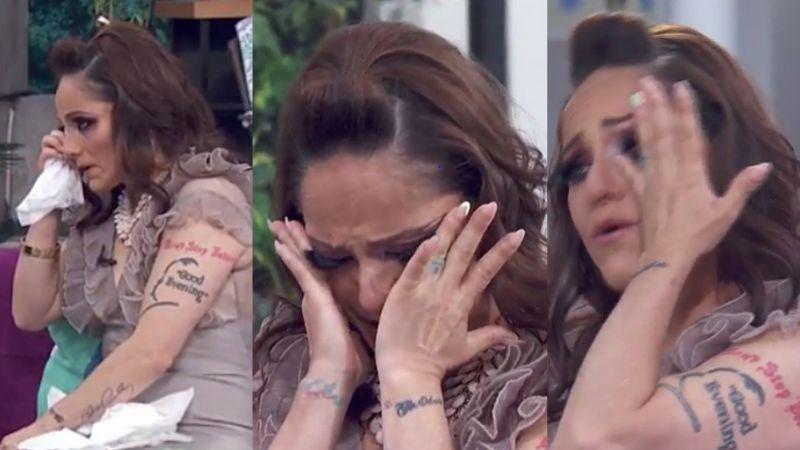 ¿Adiós Televisa? Lola Cortés se 'quiebra' en 'Hoy' y llora desconsolada por desgarrador motivo