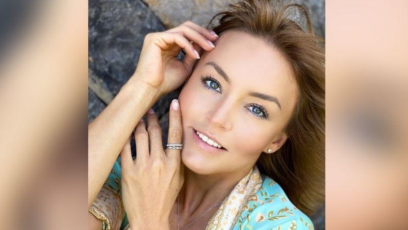 Angelique Boyer cautiva Televisa al presumir coqueto traje de baño desde el mar