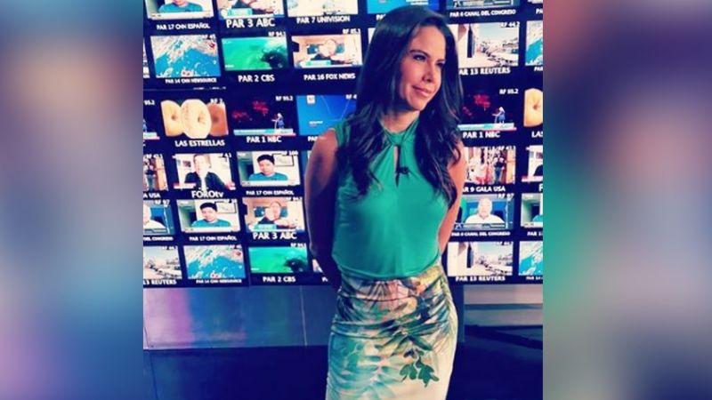 """Paola Rojas se luce en coqueto vestidito rojo desde Televisa y derrite a Instagram: """"Chiquitita"""""""